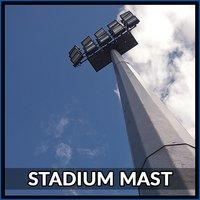 25 Mtr Stadium Mast Pole
