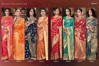 Padmakshi Designer Pure Silk Weaving Zari Sarees