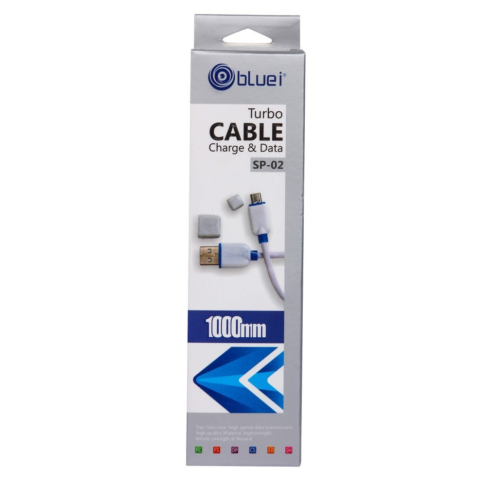 Sp-02 2.8 Amp Micro Fast Bluei Data Cable