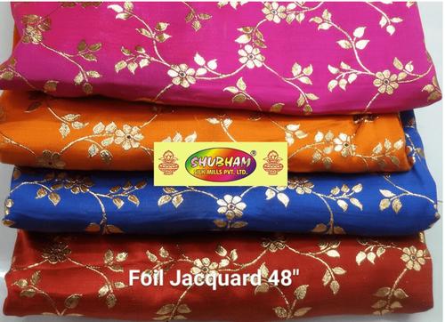 New Foil Jacquard