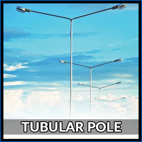MS Tubular Poles