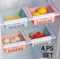 4 pcs Expandable-adjustable-fridge-storage-basket-expandable-fridge-500x500