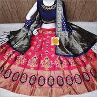 Ladies Fancy Banarasi Lehenga