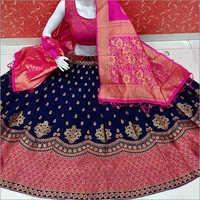 Ladies Modern Banarasi Lehenga