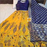 Ladies Silk Banarasi Lehenga