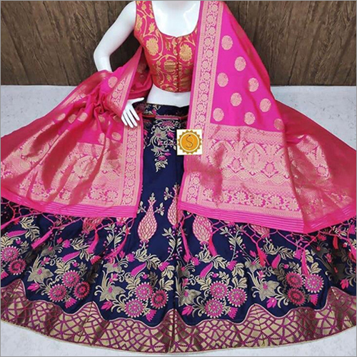 Wedding Wear Banarasi Lehenga