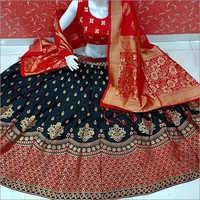 Fancy Wedding Wear Banarasi Lehenga