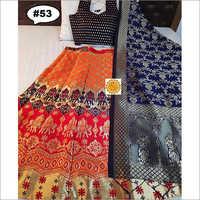 Indian Silk Banarasi Lehenga