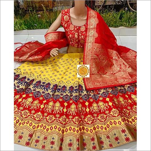 Designer Bridal Banarasi Lehenga