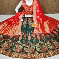 Bridal Banarasi Lehenga