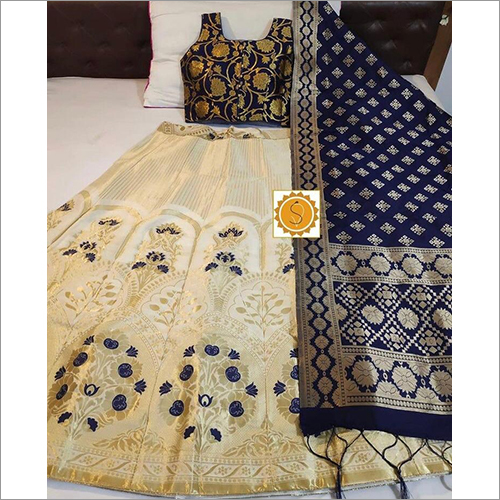 Pure Silk Banarasi Lehenga