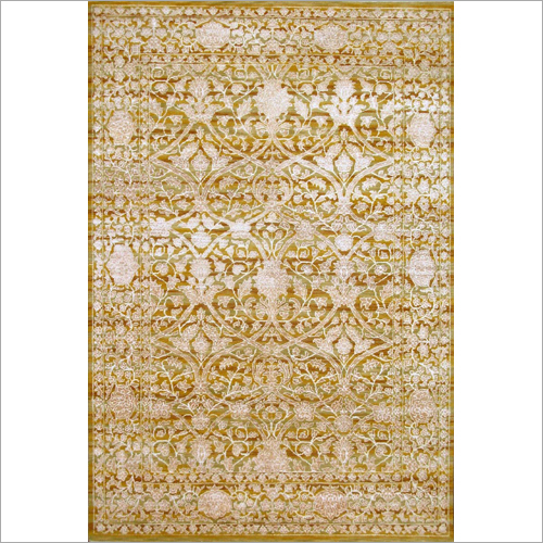 Printed Hand Knotted Carpet