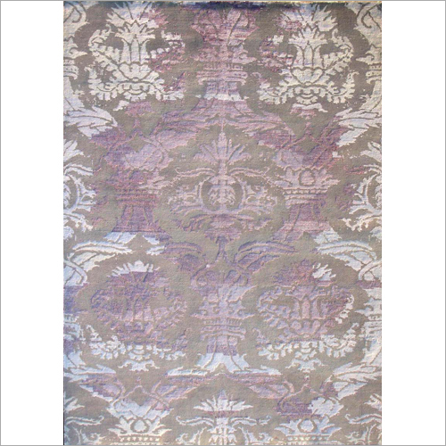 Fancy Hand Knotted Carpet