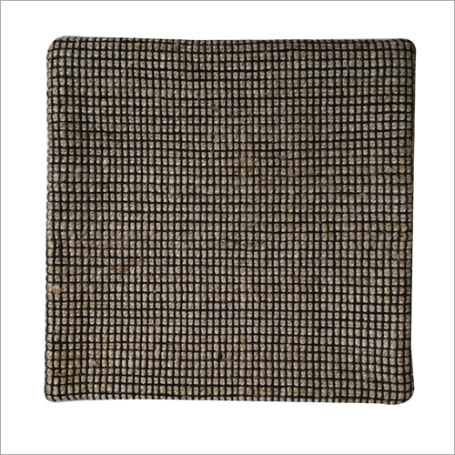 Check Hand Woven Cushion Cover
