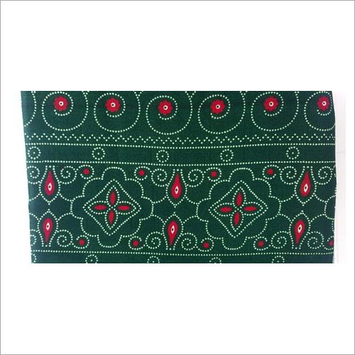 Bandhani Printed Velvet Fabric
