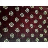 Foil worked Micro Velvet 9000 Fabric
