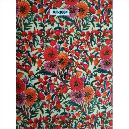 Digital Flowery Printed Velvet Fabric