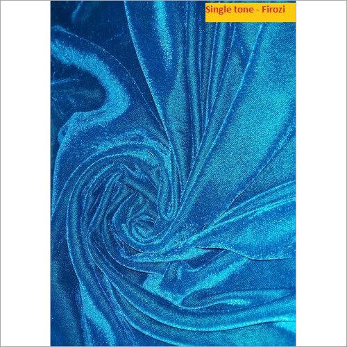 Single Tone Firozi Micro Velvet 9000 Fabric