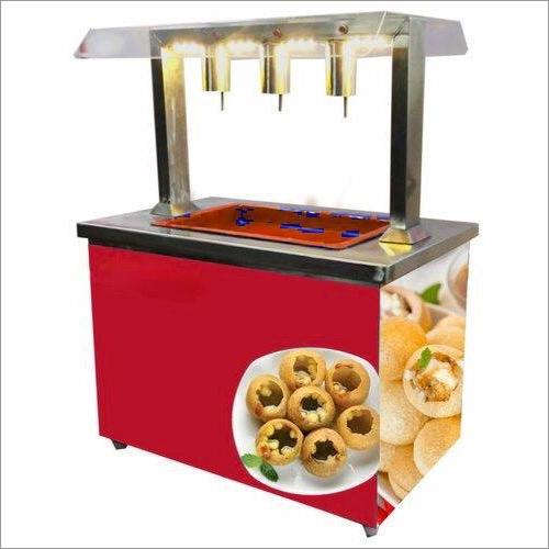 3 Nozzle Pani Puri Water Filling Counter Machine