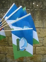 Hand Waving Flag