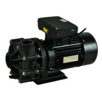 Corrosion Resistant Thermoplastic Industrial Pumps (Ln, Lp Series)