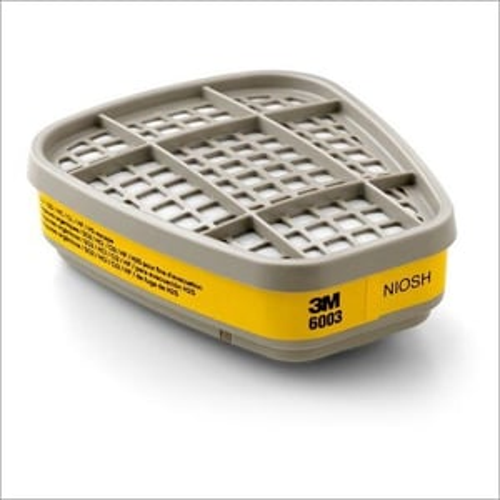 3m 6003 Aad Organic Vapor/acid Gas Cartridge For Respiratory Protection Mrp - 1250