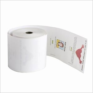 Printed Thermal Paper Fax Roll