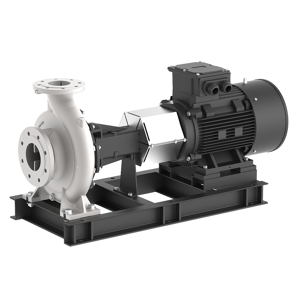 Single-stage, Long Coupled End-suction Industrial Pumps (Lbs Series)