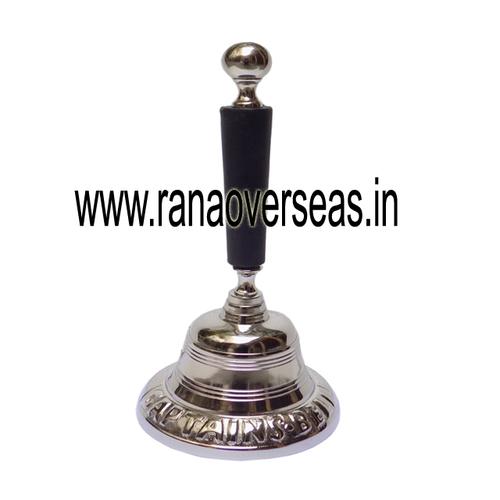 Metal Aluminum Hand Bell For Wedding Bell Dinner Bell Golden Temple Bell Classroom.
