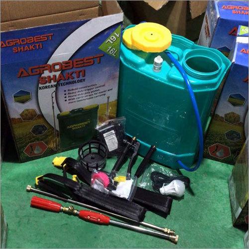 12-12 Battery Operated Agrobest Shakti Battery Operated Sprayer