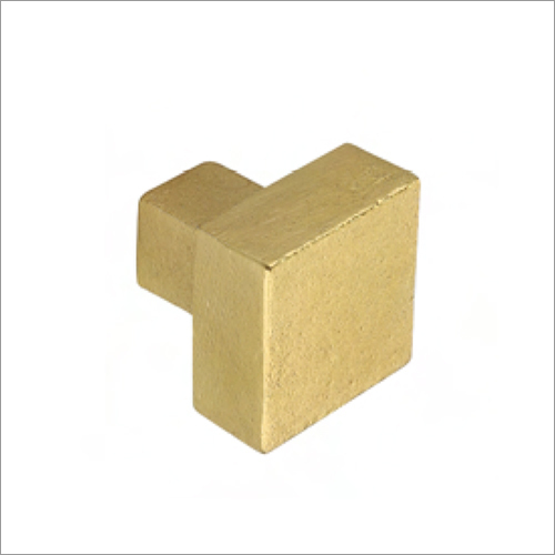 Square Shape Gold Cabinet Knobs