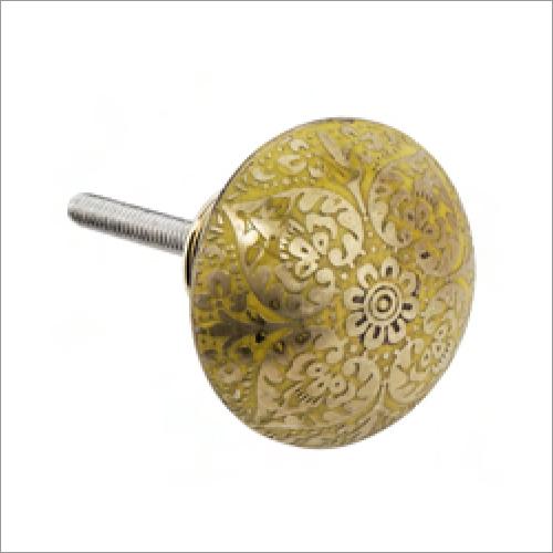Modern Brass Knobs