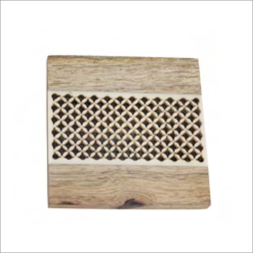 Square Wooden Coaster