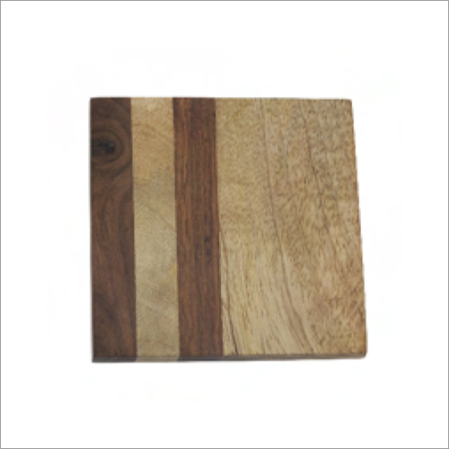 Modern Wooden Coaster