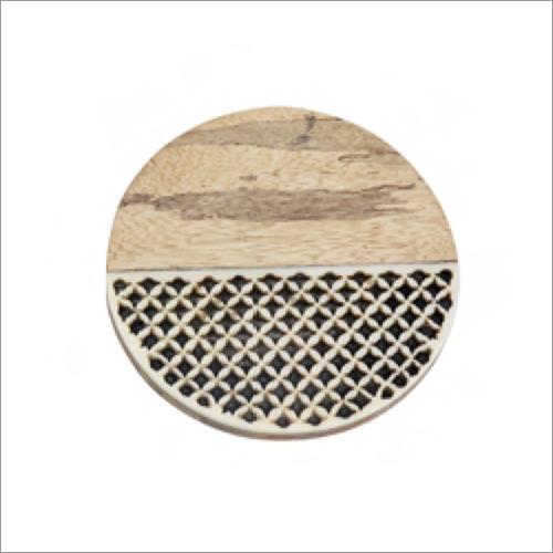 Decorative Wooden Coaster