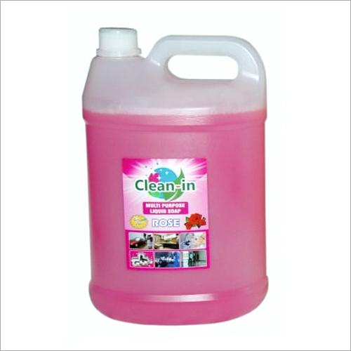 5 Ltr Rose Multipurpose Soap Liquid