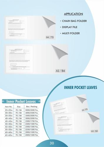 Inner Pocket Leaves