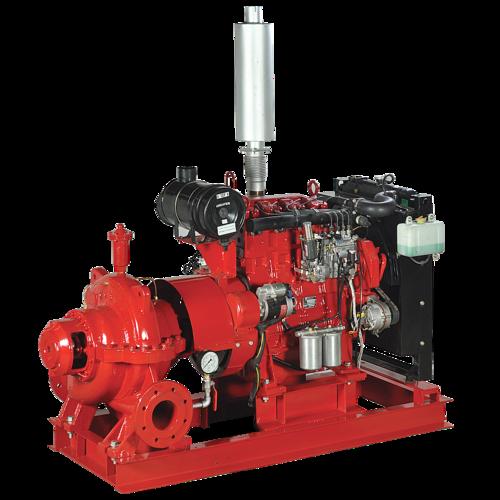 Horizontal Split Case Engine Driven Fire Pumps (Lhcd Series)