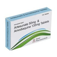 Combipack of Artesunate  Tablets And  Amodiaquine Hydrochloride  Tablets