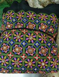 Gamthi Mirror Work Embroidery