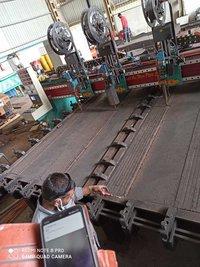 Four Torch Wearplate Welding Machine