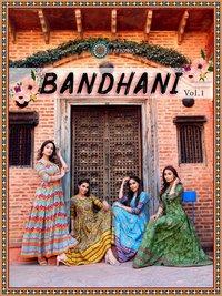 BANDHANI VOL 1 Heavy Cotton With Manual Work Kurtis