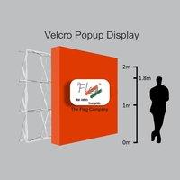 Velcro pop up Display