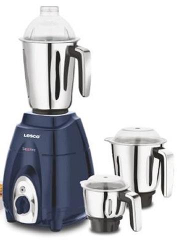 Lesco Saphire 1000 watts Mixer Grinder 3 Jars