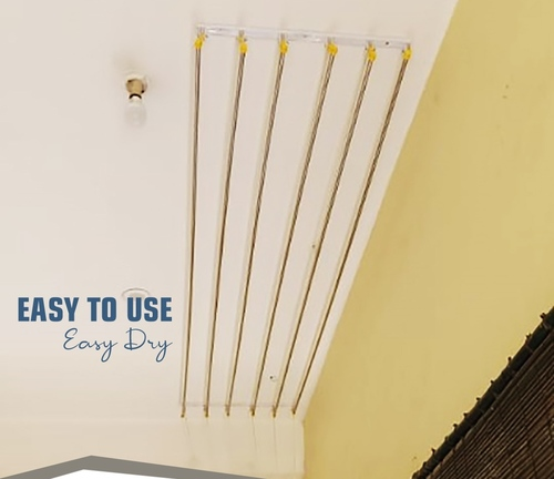 Ceiling Rope Cloth Drying Hanger Manufacturing In Coimbatore