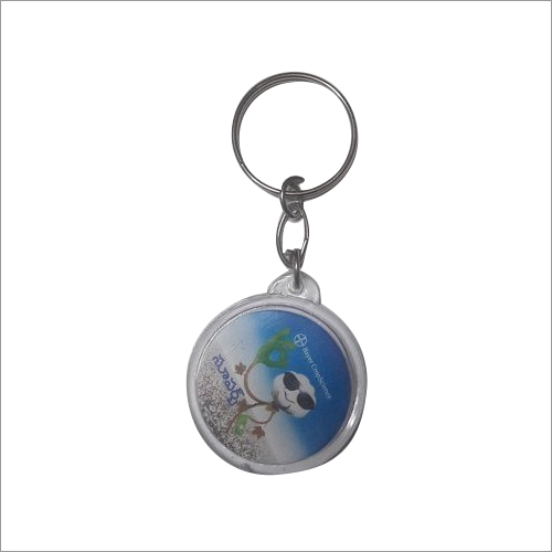Round Promotional Key Chain