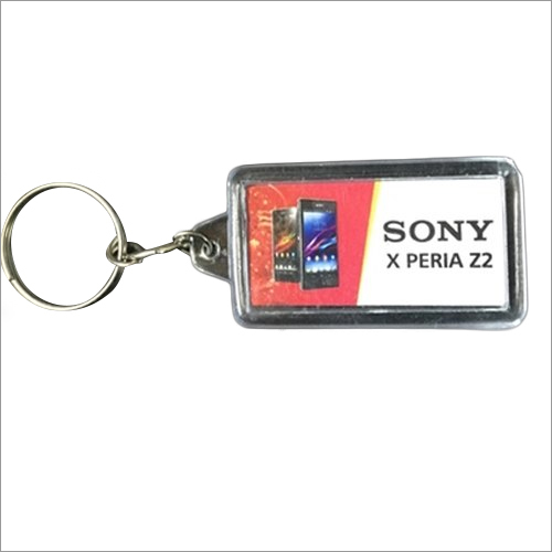 Promotional Rectangle Key Chain