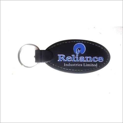 Black Printed Promotion Key Chain