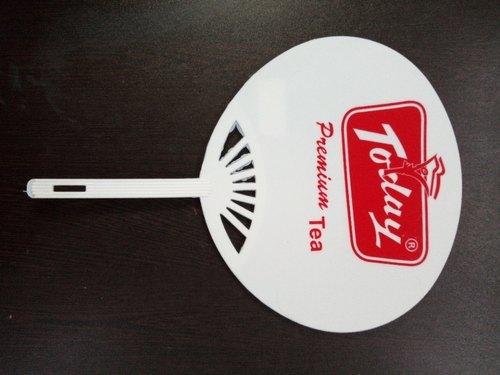 Plain Plastic Hand Fan