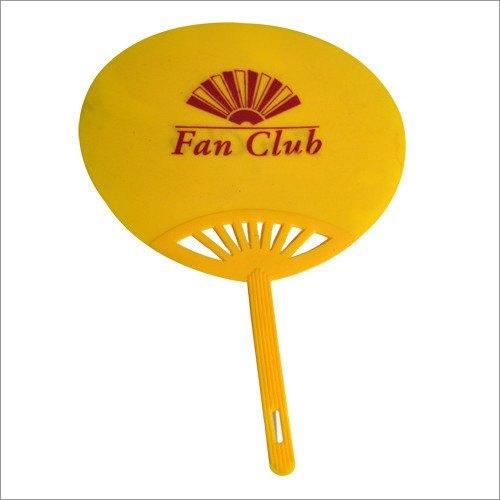 Yellow Promotional Hand Fan